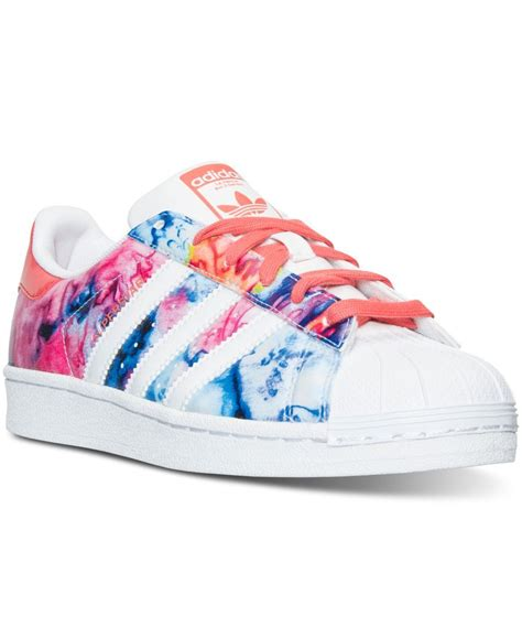 adidas big girls superstar casual sneakers  finish   day shoes adidas shoes women