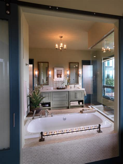 hgtv master bathrooms hgtv dream home 2010 master bathroom pictures and video