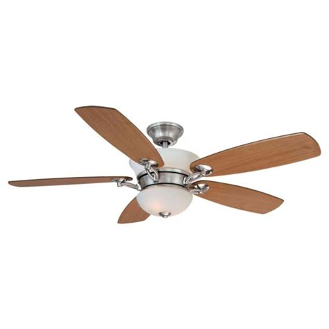hton bay remote ceiling fans hton bay minorca 52 quot ceiling fan brushed nickel remote