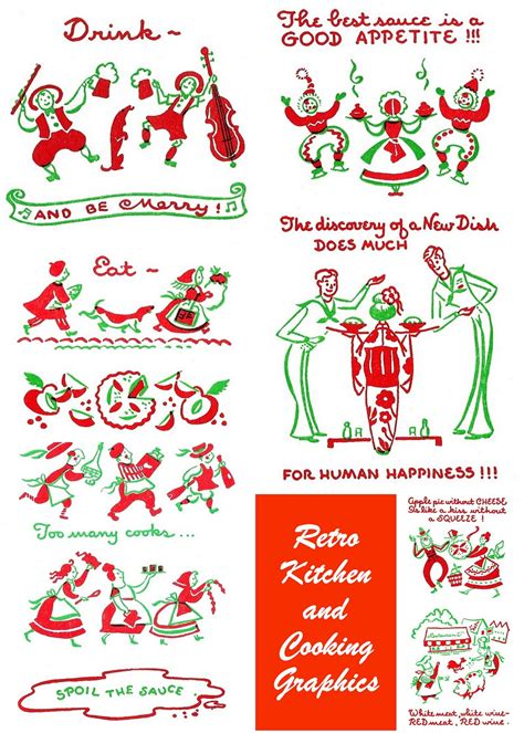 Vintage Kitchen Clipart by Jennuine By Rook No 17 Free Vintage Clipart Retro