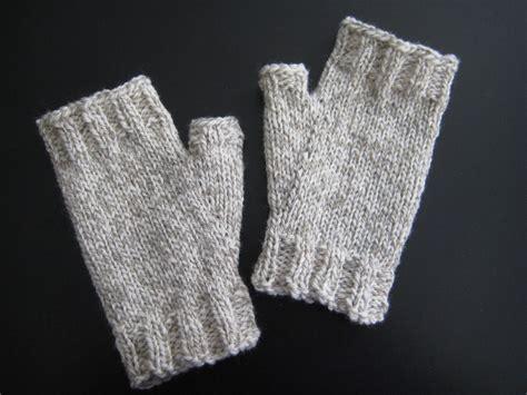 knitting gloves in the for anton fingerless gloves up for bid now