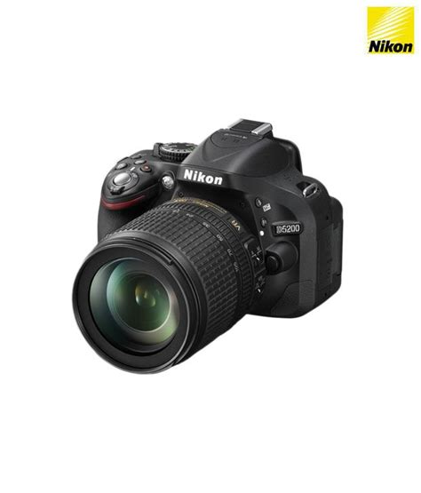 nikon d5200 slr nikon d5200 slr with af s 18 105 mm vr kit lens black