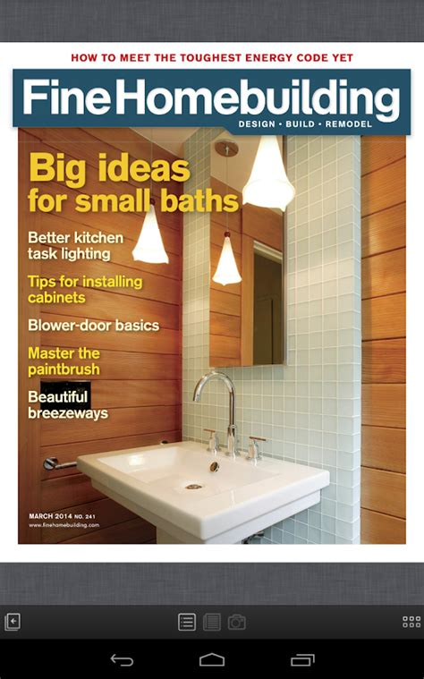 fine homebuilding magazine fine homebuilding magazine android apps on google play