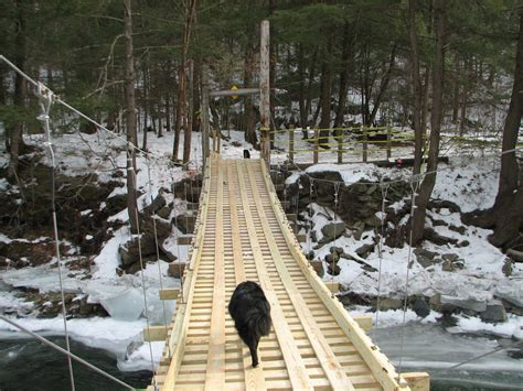 build swinging bridge diy how to build a wooden swinging bridge plans free