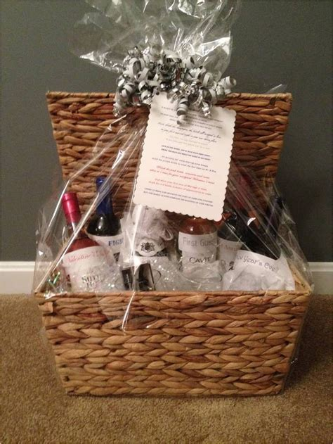 Lovely Creative Wedding Shower Gift Basket Ideas