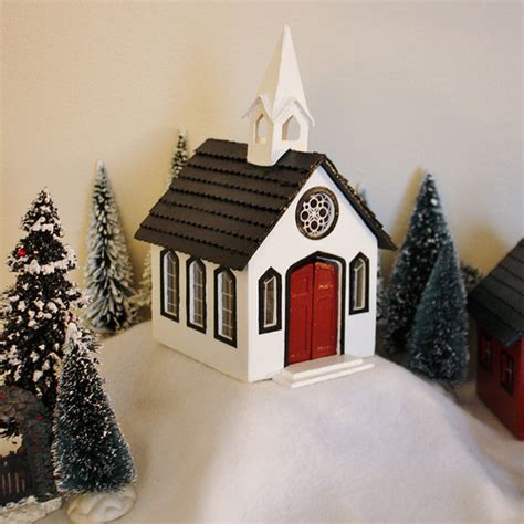 how to make wooden a christmas church my handmade at cloverhill