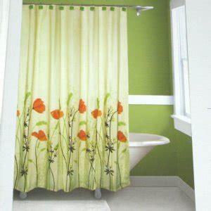 Brown And Green Curtains Designs Springmaid Chantal Orange Green Brown Fabric Shower Curtain Target Curtain Ideas Pinterest