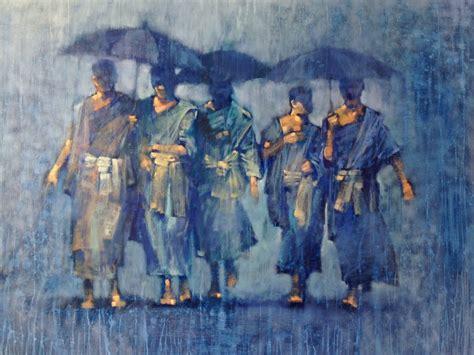 biography of local artist buddhist paintings brisbane local artist