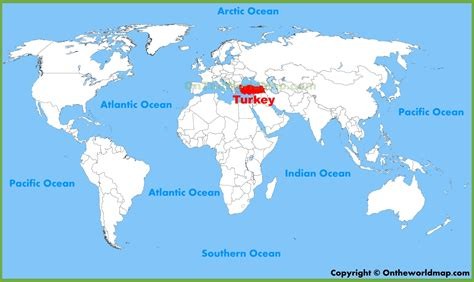 turkey on the map turkey location on the world map