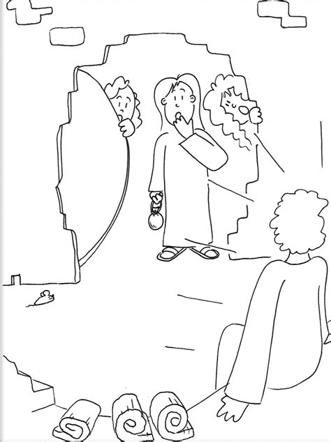 coloring pictures of jesus empty tomb free coloring pages of empty tomb easter