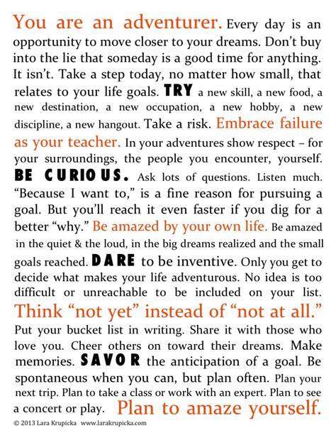 life themes list the bucket list life manifesto click to download lara