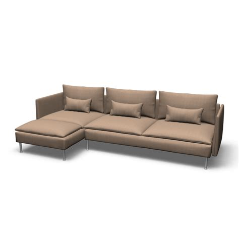 ikea couches s 214 derhamn sofa and chaise lounge design and decorate