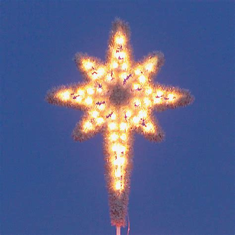 shop holiday lighting specialists 4 8 ft star of bethlehem