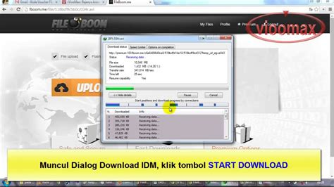 cara download video dari youtube menggunakan idm full cara download fileboom me menggunakan idm youtube