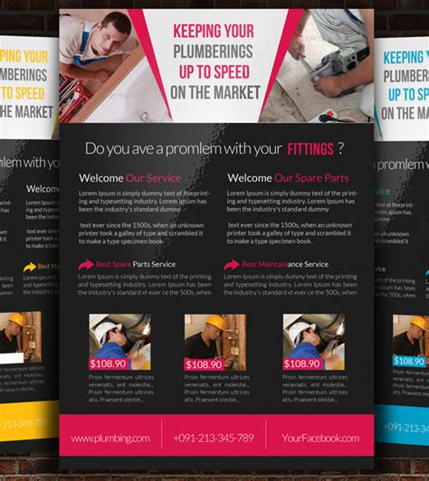 free handyman flyer template 13 best handyman flyer templates designs free