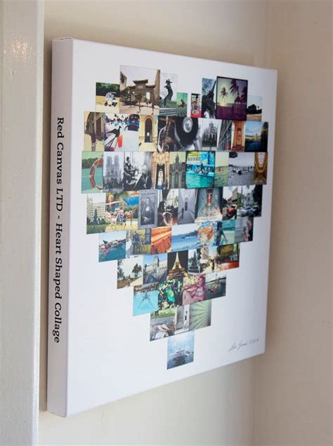 20x20 photo collage design print 17 best images about wall on canvas word