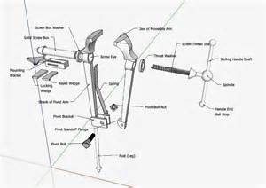diagram of a bench vice persimmon forge professional blacksmithing post vise diagram