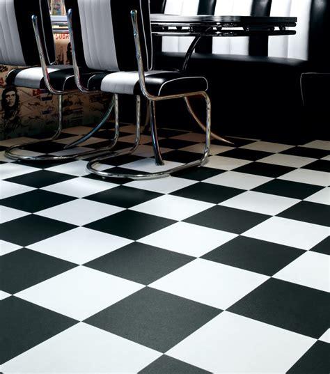 Black And White Vinyl Flooring by Black And White Vinyl Tiles From Safety Flooring Uk