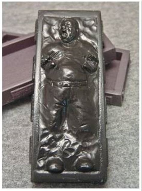 Han Frozen In Carbonite Desk by You Frozen In Carbonite Boing Boing
