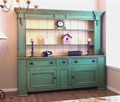 Country Style Hutches antique country style hutch buffet china cabinets bookcases pin