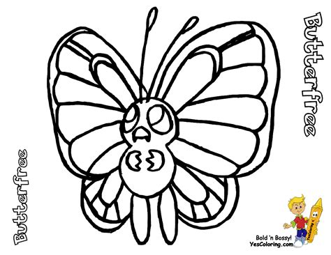 pokemon coloring pages butterfree fo real pokemon coloring pages bulbasaur nidorina