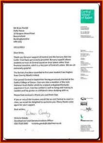 7 motivation letters for bursary application receipts