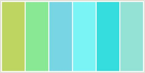 light blue green color bluegreen green yellow pastel green aquamarine blue