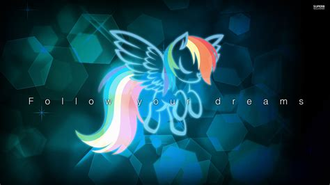 cool my follow your dreams wallpaper my little pony friendship