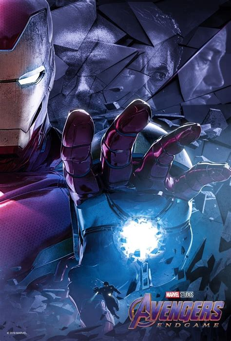 avengers endgame character posters released