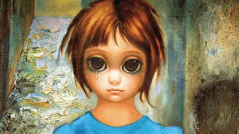 Eye Big margaret keane a an artist and a storyteller
