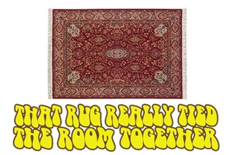 big lebowski rug quote the big lebowski rug quotes quotesgram