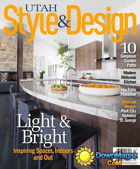 utah home design magazine utah style design usa summer 2015 187 download pdf