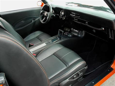 1969 camaro ss interior 1969 chevrolet camaro ss custom coupe 90930