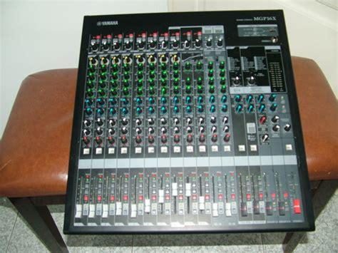 Mixer Yamaha Mgp 16 Channel professional yamaha mgp 16x mixer 16 channel usb many effects used rarely at home near