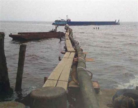 Minyak Cpo cpo pt tumpah ke laut akibat pipa bocor segmen news