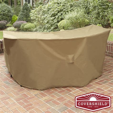 Patio Furniture Tarp Covershield Bar Cover Deluxe Outdoor Living Patio