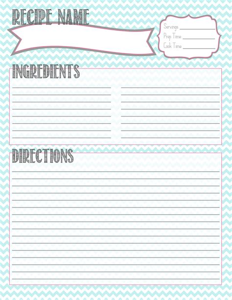food receipt template free printable recipe card starting this for bentlee