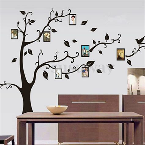 home decor decals family tree removable wall sticker vinyl decal home decor