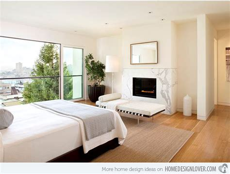 Bedroom Fireplace Design Ideas 20 Modern Bedroom With Fireplace Designs