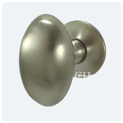 frank allart 7616 large modern oval mortice door knobs in