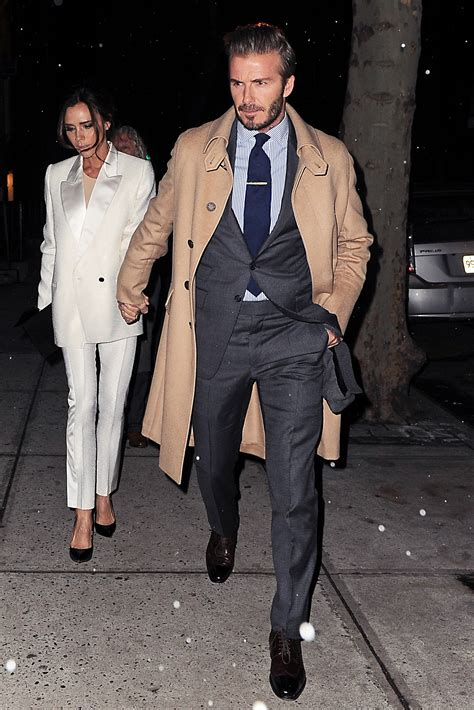 David Beckham Wardrobe by