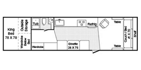 trailmanor floor plans 2010 trailmanor m 3326k specs and standard equipment