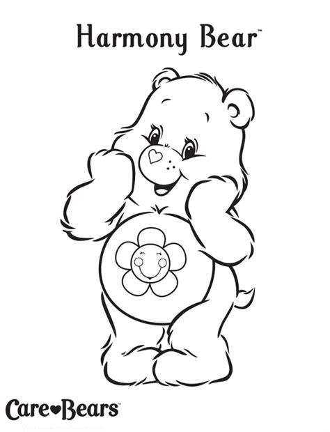 Treehouse Games Canada - care bears colour harmony bear treehouse