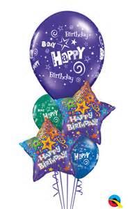 birthday balloon bouquet the balloon shop starry birthday balloon bouquet