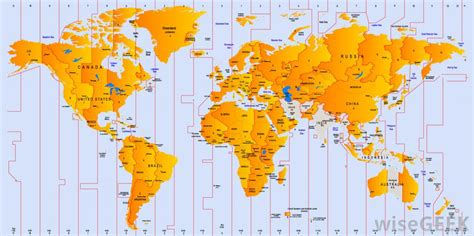 world cities time zone map what is the international date line with pictures