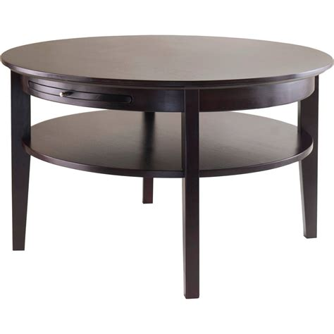 sutton black coffee table walmart
