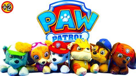 Real Pic Figure Paw Patrol Isi 6 Pcs Bisa Nembak pics for gt rubble paw patrol wallpaper