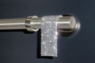 bling curtain rods if i can t have diamonds i ll take bling for my windows