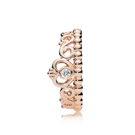 pandora my princess tiara ring 180880cz greed