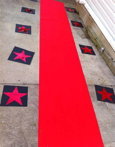 hollywood themed names quot red carpet entrance quot hollywood party theme added names